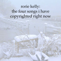 The Four Songs I Have Copyrighted Right Now CD - click for larger image